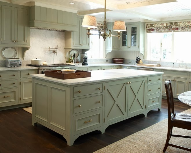 Decorative Supports Put An Artful Emphasis On Upper Cabinets. Every Upper  Cabinet In This Kitchen Has A Support That Was Originally Designed To Help  Support ...