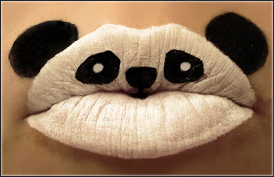 Awesome Lip Art by www.KisKut.com