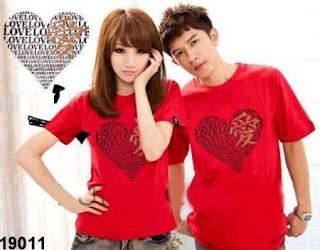 Baju Couple Lambang Cinta Chinese