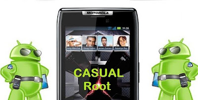 Motorola Droid Razr XT912: Rooting ICS and Gingerbread with CASUAL Root Tool
