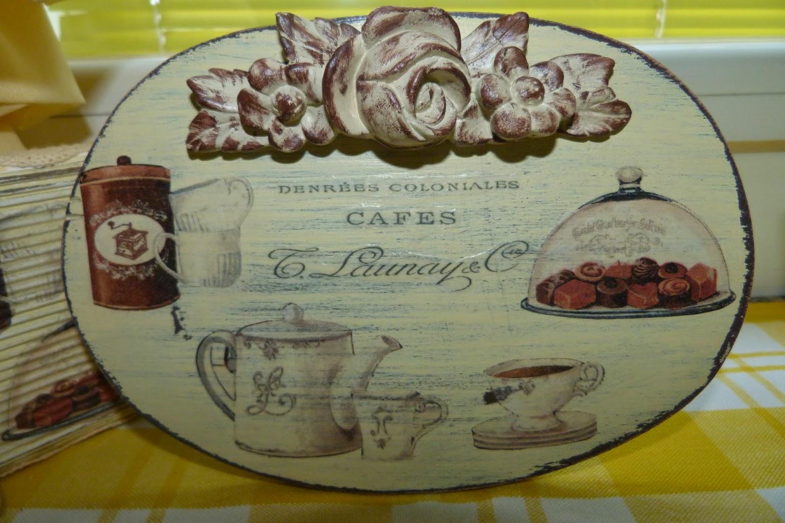 Carteles y colgadores para cocina isabel vintage - Carteles de cocina ...