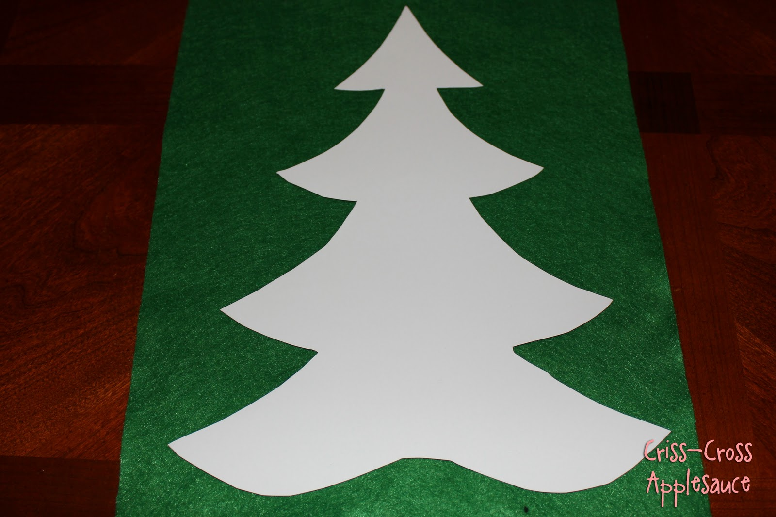 Christmas Tree Cut Out Cut out the photos...don't