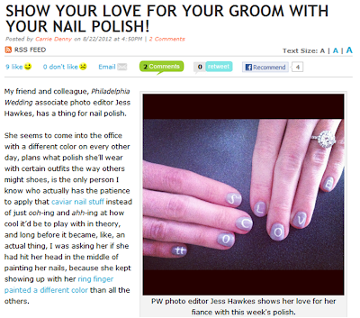 Wedding Nail Polish, make your nails be pure!