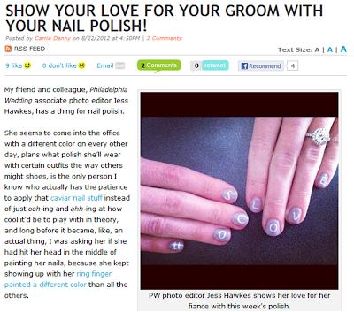 Wedding Nail Polish, make your nails be pure!