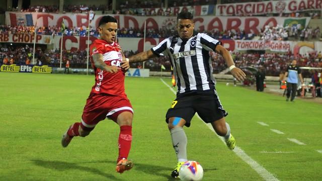 CRB vence o Botafogo e respira; Alvinegro perde chance de ser líder