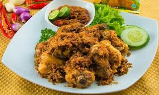 Ayam Goreng Serundeng Khas Tasikmalaya
