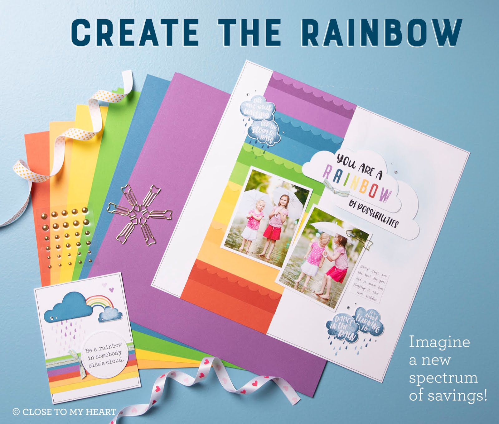 Create the Rainbow Special