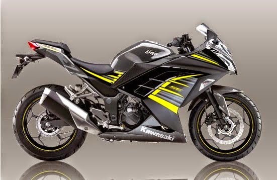 Kawasaki Ninja 250 Special Edition ABS Yellow Black