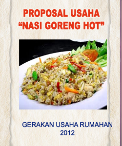 Cover Proposal Usaha Nasi Goreng