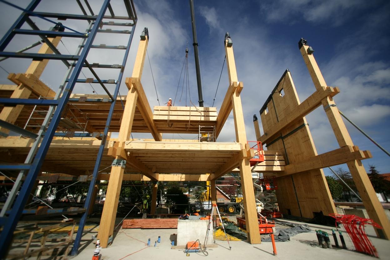 Gallart grupo el blog suelos y puertas de madera en - Arquitectura en madera ...