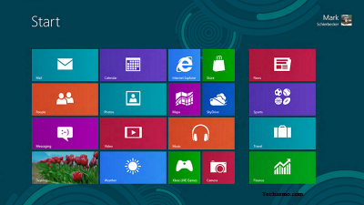 Windows 8 Desktop Screenshot