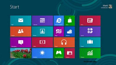 Windows 8 Desktop Screenshot