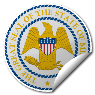 Sticker of Mississippi Seal
