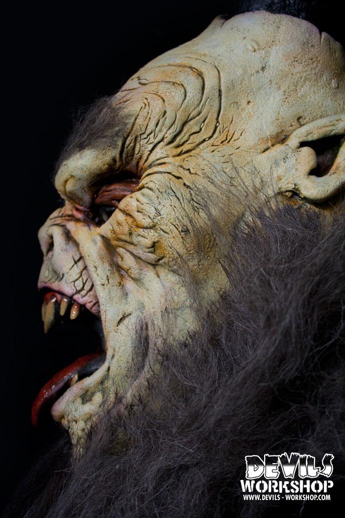 Devils Workshop Krampus Mask Blood Curdling Blog Of