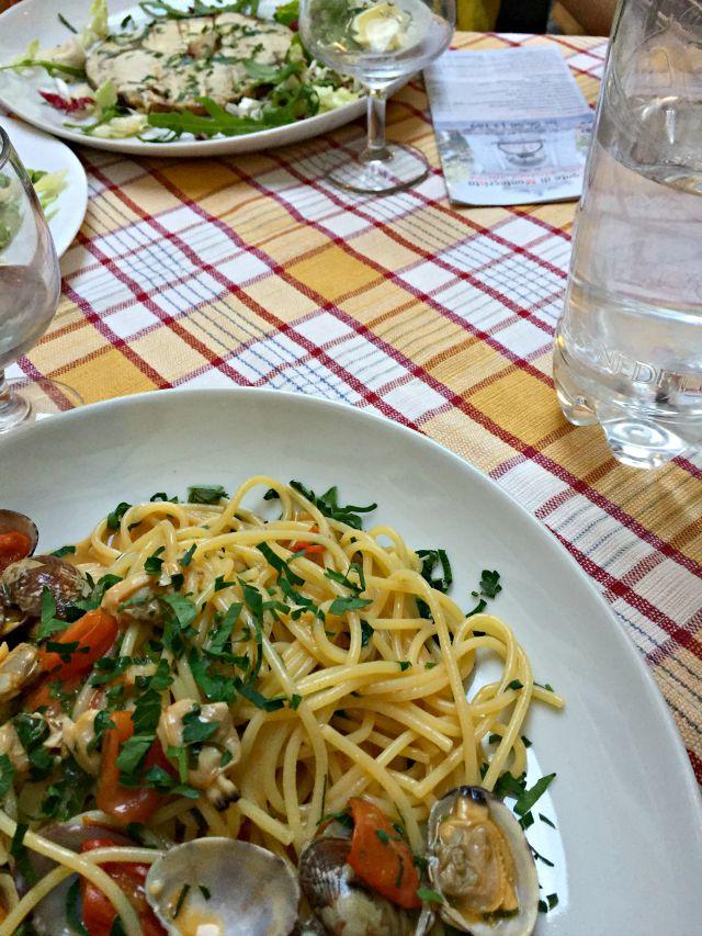 Antipasti und Restauranttip für Rom Trastevere für Familien mit Kindern - Frühstück bei Emma