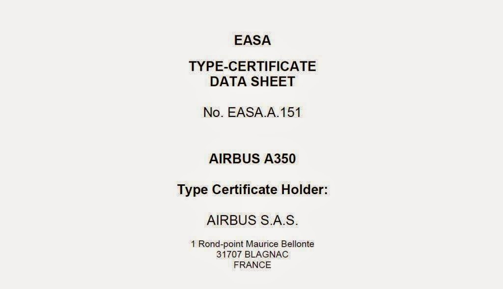 Airbus A350 900 Receives Easa Type Certification Aviation Tanzania