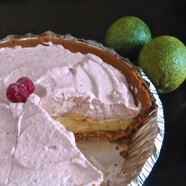 Key Lime Pie Raspberry Mousse