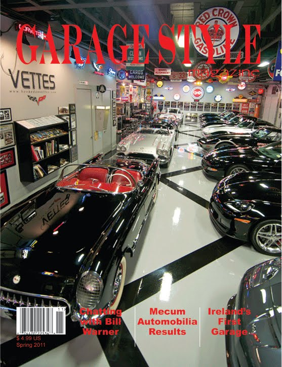 Garage Stuff For Guys : Just a car guy garage style magazine i learned of