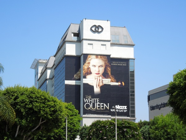 The White Queen season 1 billboard