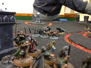 Hobbit SBG - Dwarf Rangers target spiders