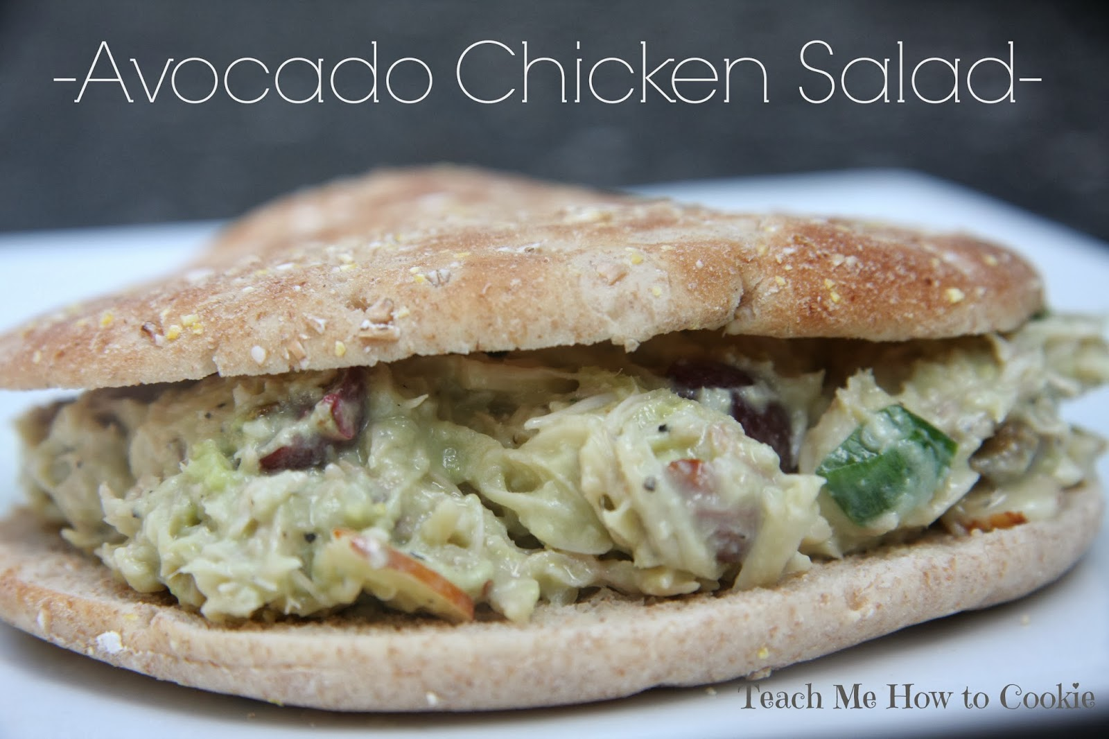 Teach Me How To Cookie: Avocado Chicken Salad