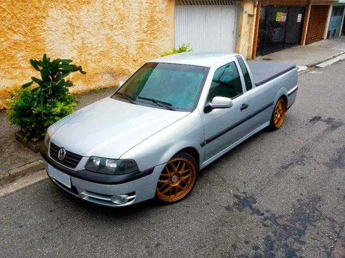 Saveiro G3 1.9 Turbo Forjada
