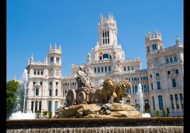 Madrid Capital Of Spai...
