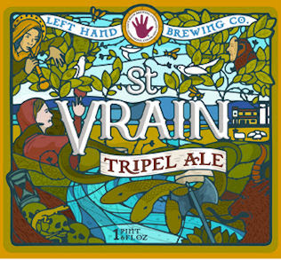 Left Hand St Vrain Tripel
