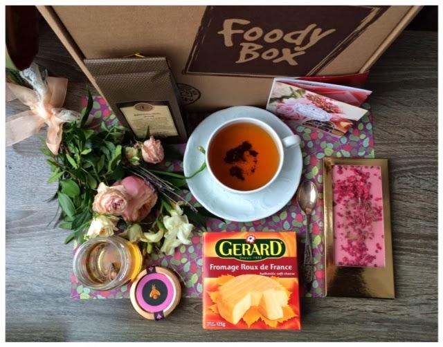Весенняя коробочка Foodybox