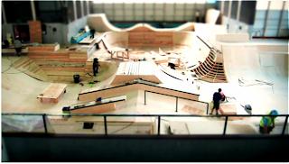 nike the pool montage histoire du projet bmx