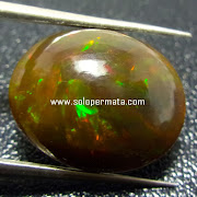 Batu Permata Black Opal - kode 30L01
