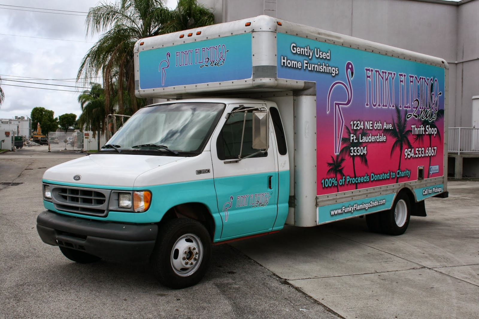 Http www carwrapsolutions com box truck wraps graphics fort lauderdale miami palm beach florida html