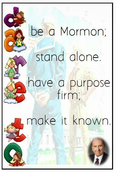 Words From President Thomas S. Monson   Dare To Stand Alone   The Friend  October 2013, Handout