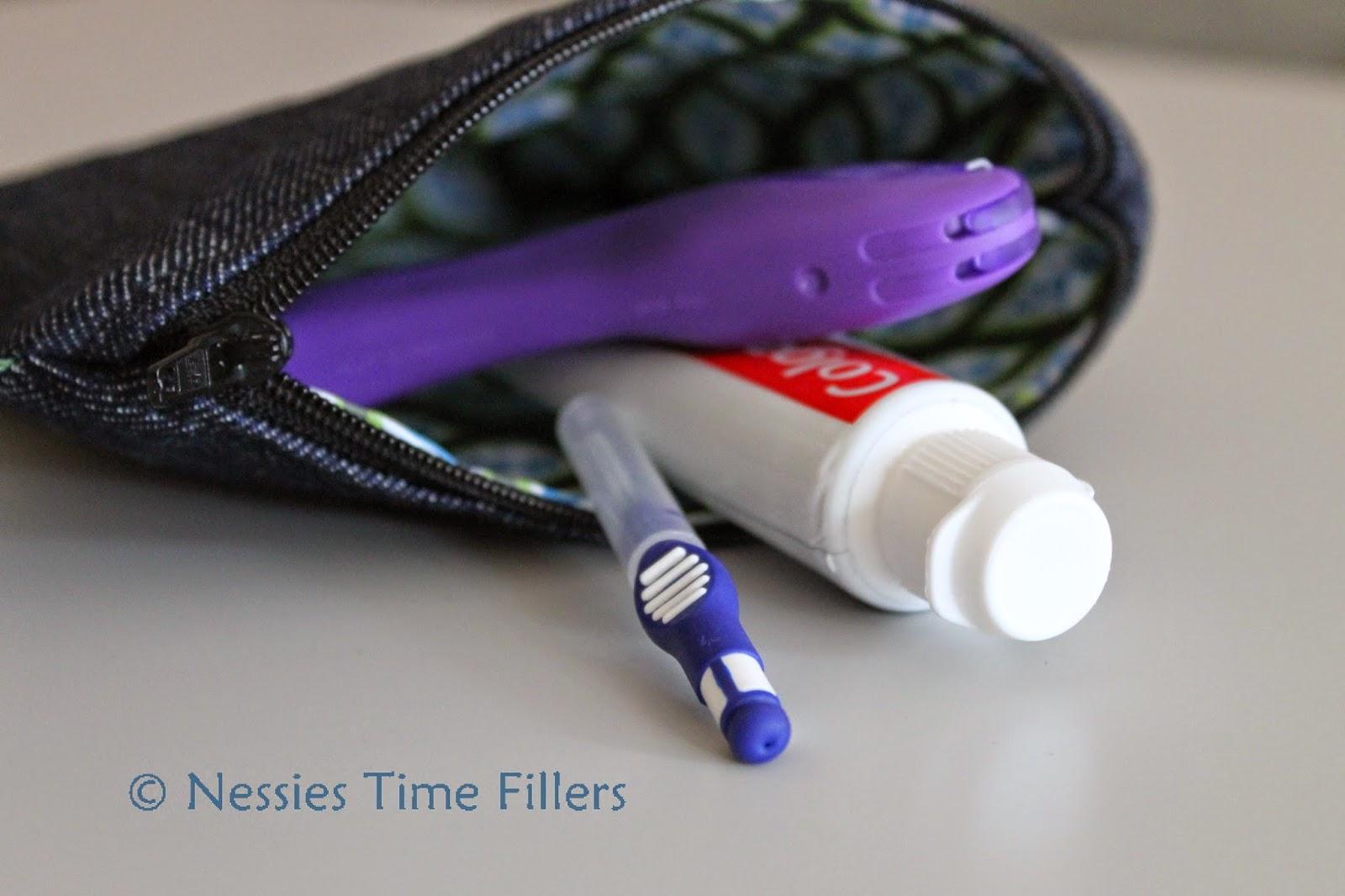 Tasche fuer feste Zahnspangen Pflegesets