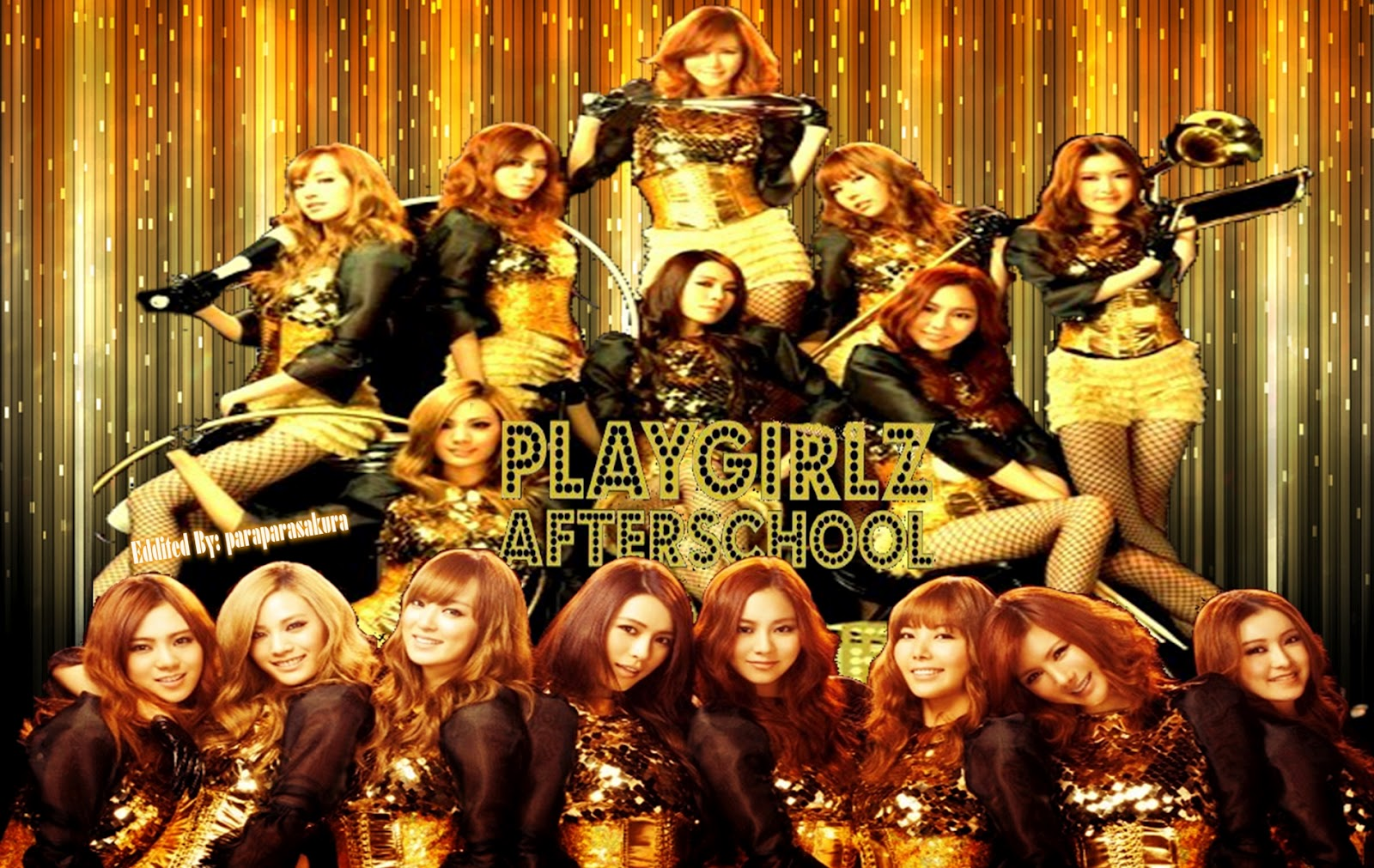 "AFTER SCHOOL ""PLAY GIRLZ"" WALLPAPERS"