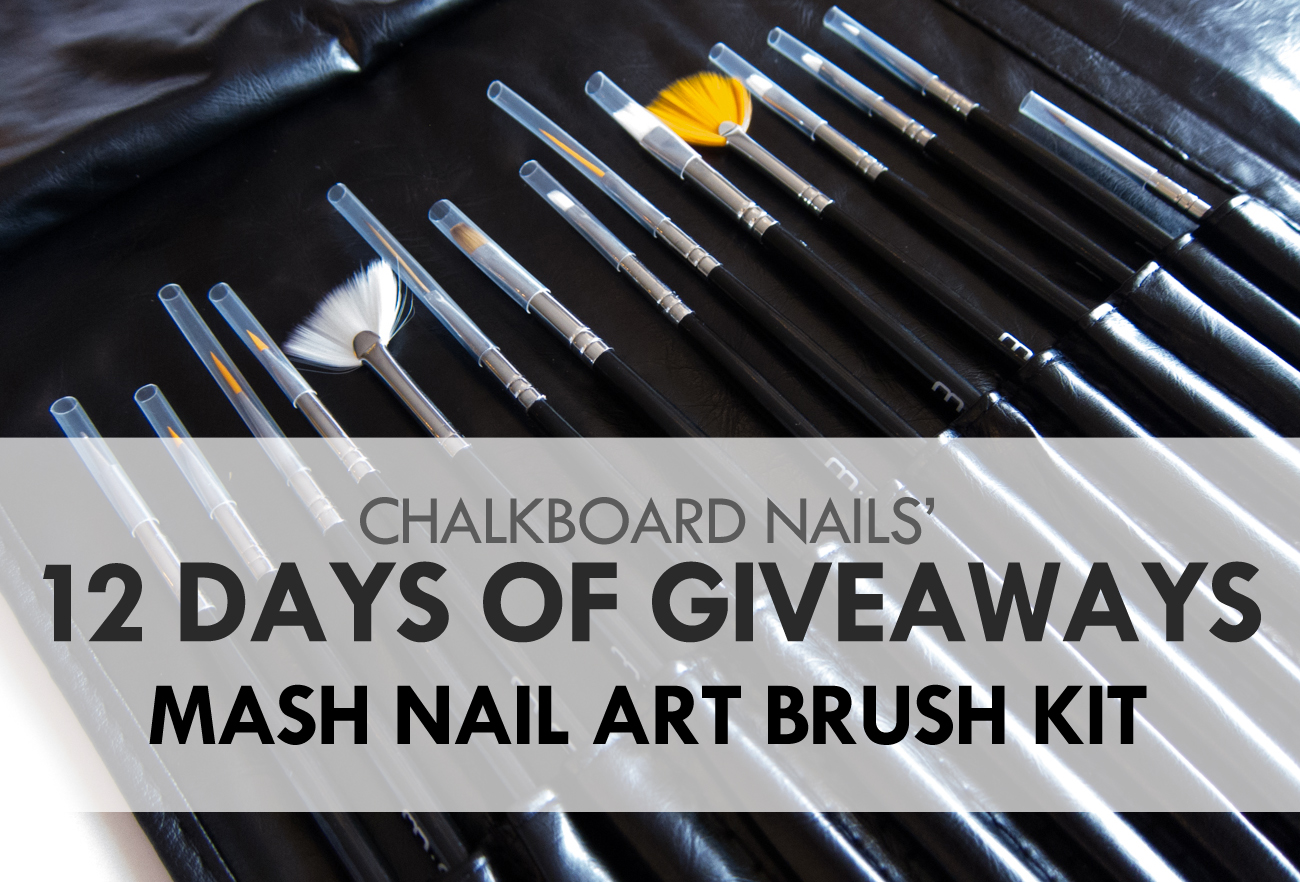 12 Days of Giveaways Day 05: MASH Nail Art Brush Sets (CLOSED ...