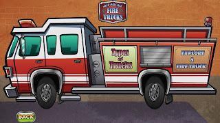 Sparky.org website Sparky the Fire Dog Label the fire truck and Activities