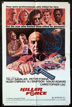 Poster Of Killer Force 1976 Dual Audio 300MB HDRip 480p ESubs - Uncut Free Download Watch Online