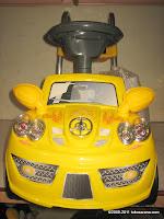 1 Mobil Mainan Aki Wimcycle Hotwheels Built for Speed Small dengan Kendali Jauh
