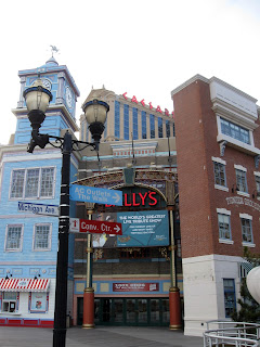 Picture of the Bally&#39;s Casino from the boardwalk in Atlantic City