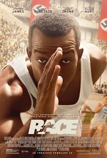 Race: El Héroe de Berlín Poster