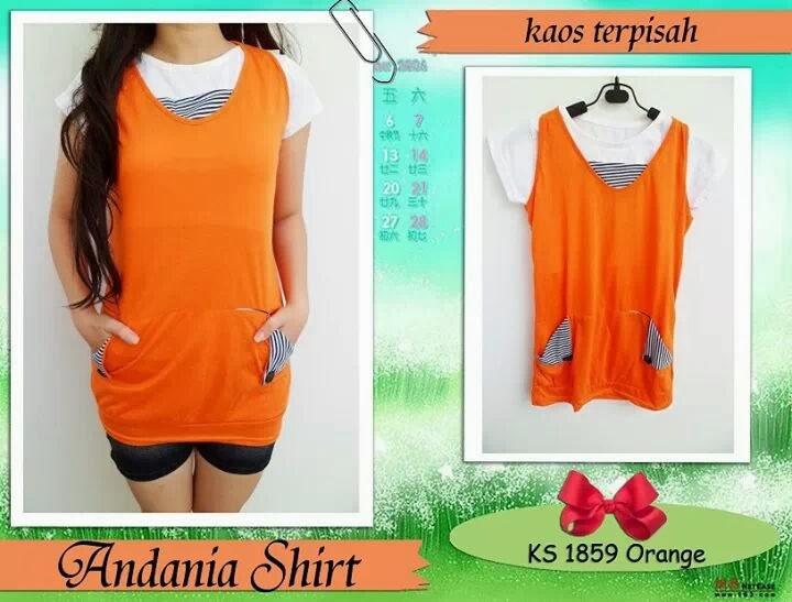 Toko Baju Online Shoping: Baju model Cewek Bahan Kaos, Nyaman Dipakai ...