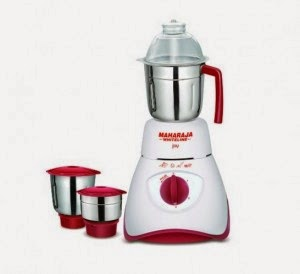 Shopclues: Buy Maharaja Whiteline Joy Happiness 550-Watt Mixer Grinder and 36 cluebucks at Rs.1747