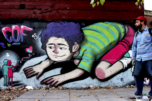 Arte callejero en Buenos Aires