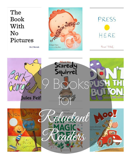 9 Awesome Picture Books for Reluctant Readers