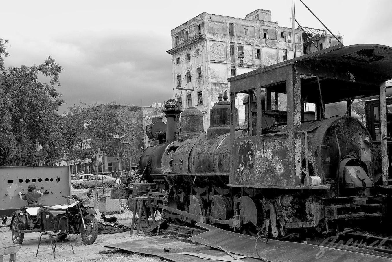 Cuba 2012: La Locomotora Mañalich - La Habana IV