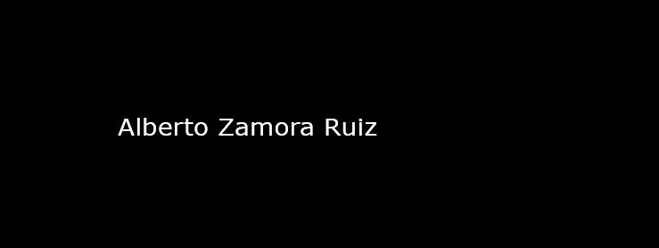Alberto Zamora Ruiz
