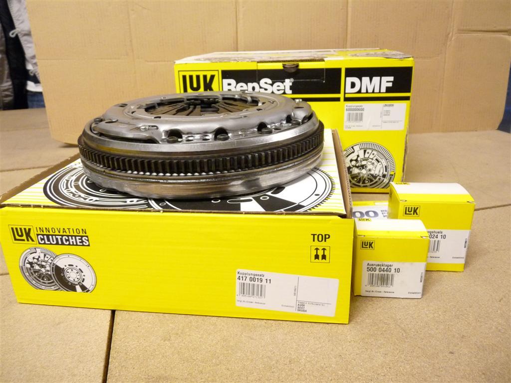 LuK 600 0019 00 Repset Dmf Kit de Embrague