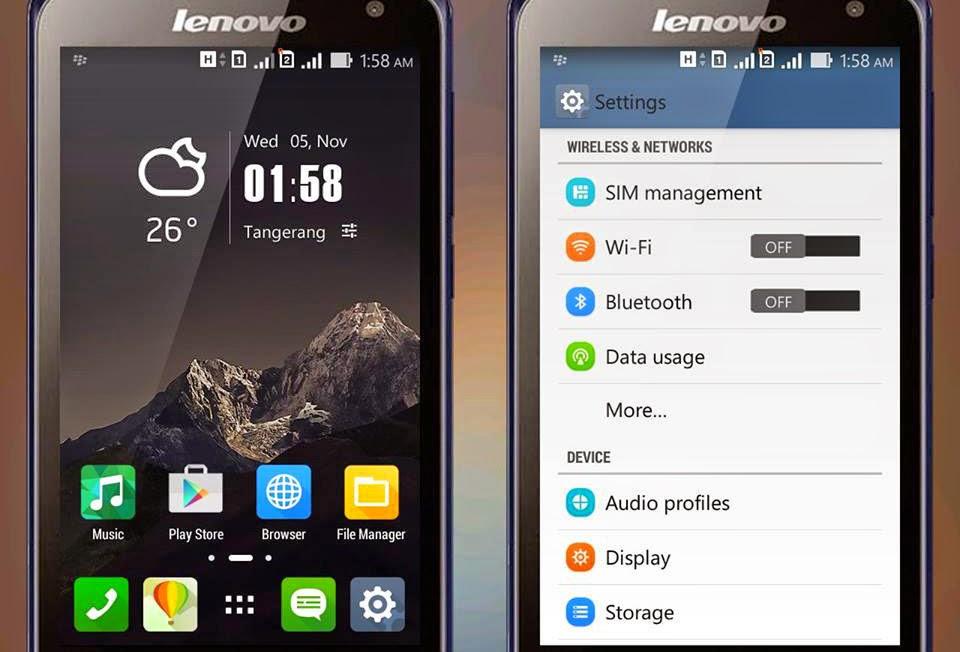 Custom ROM Asus Zenfone for Lenovo A316i Terbaru | leXus!