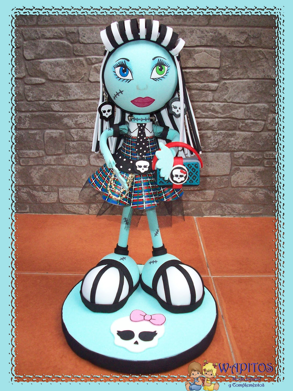 tutorial fofucha draculaura monster high bolso purse monster high de